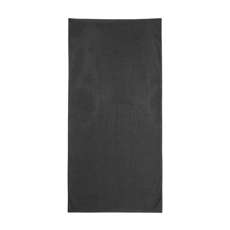 écharpe publicitaire multifonctionnelle plat noire