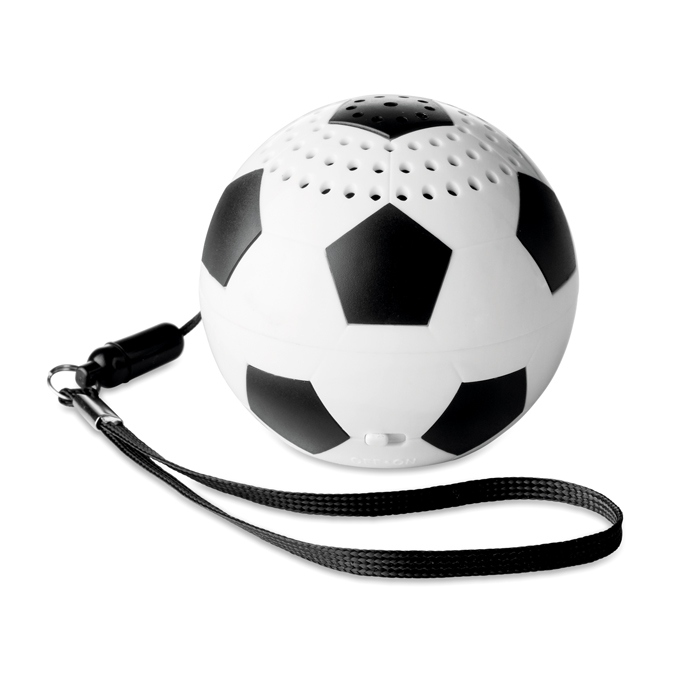 Enceinte bluetooth ballon de foot