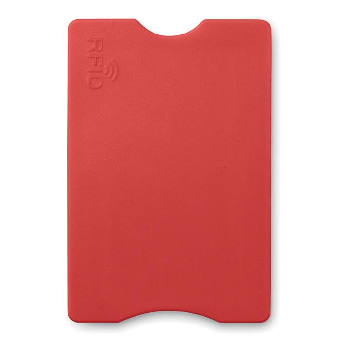 Porte-carte de crédit publicitaire Protector bleu - Goodies entreprise