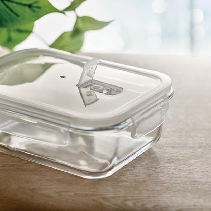 Lunch-box publicitaire en verre Praga - cadeau d'entreprise