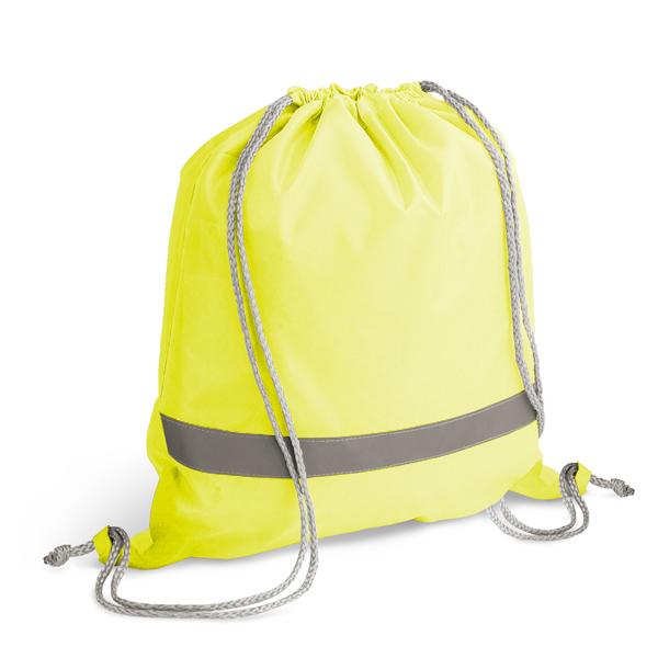 Sac à dos publicitaire Bright jaune - objet publicitaire sécurité