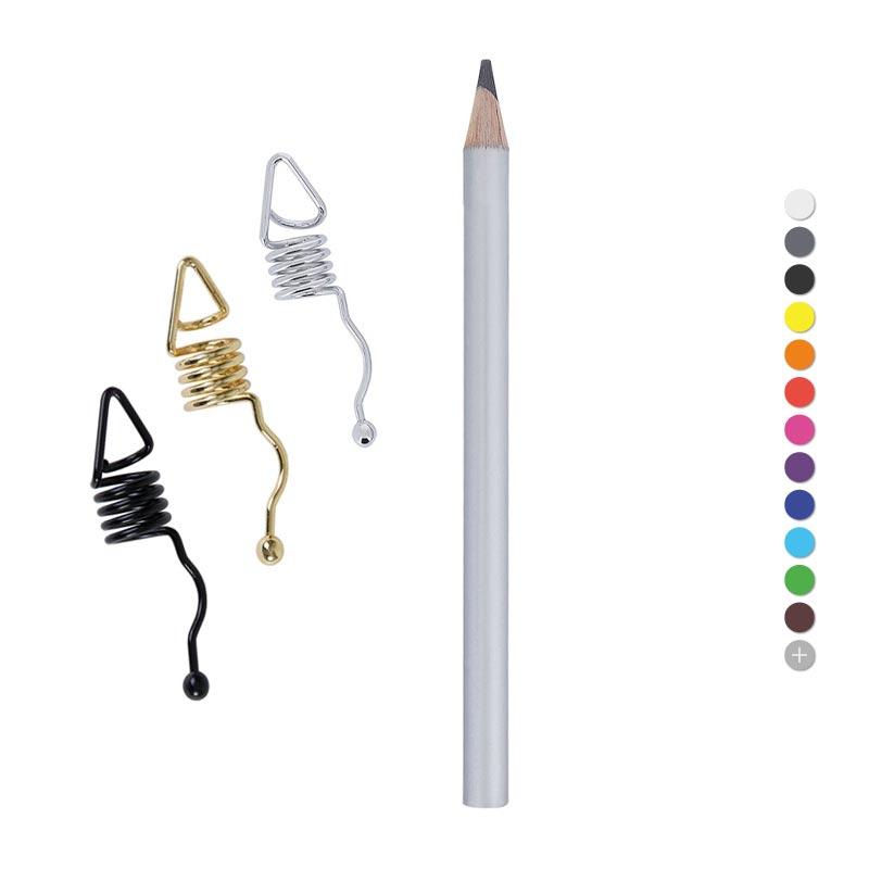 Crayon à papier publicitaire Clip'One Prestige Pantone - Coloris disponibles