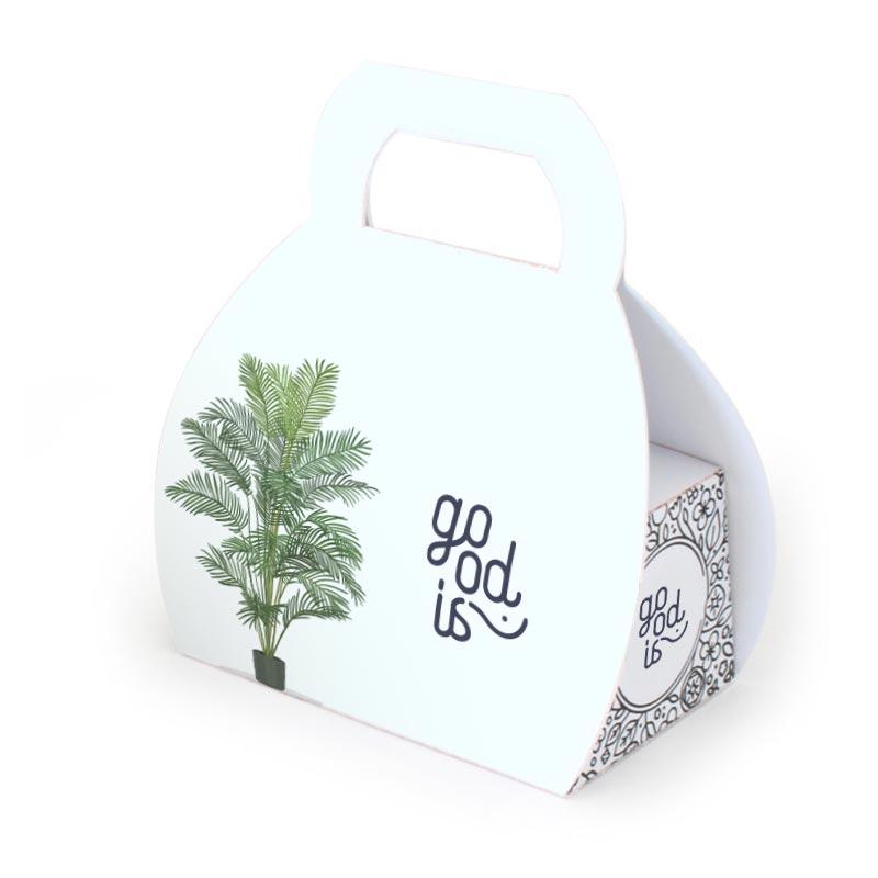 Mallette Kit de plantation - cadeau publicitaire écologique
