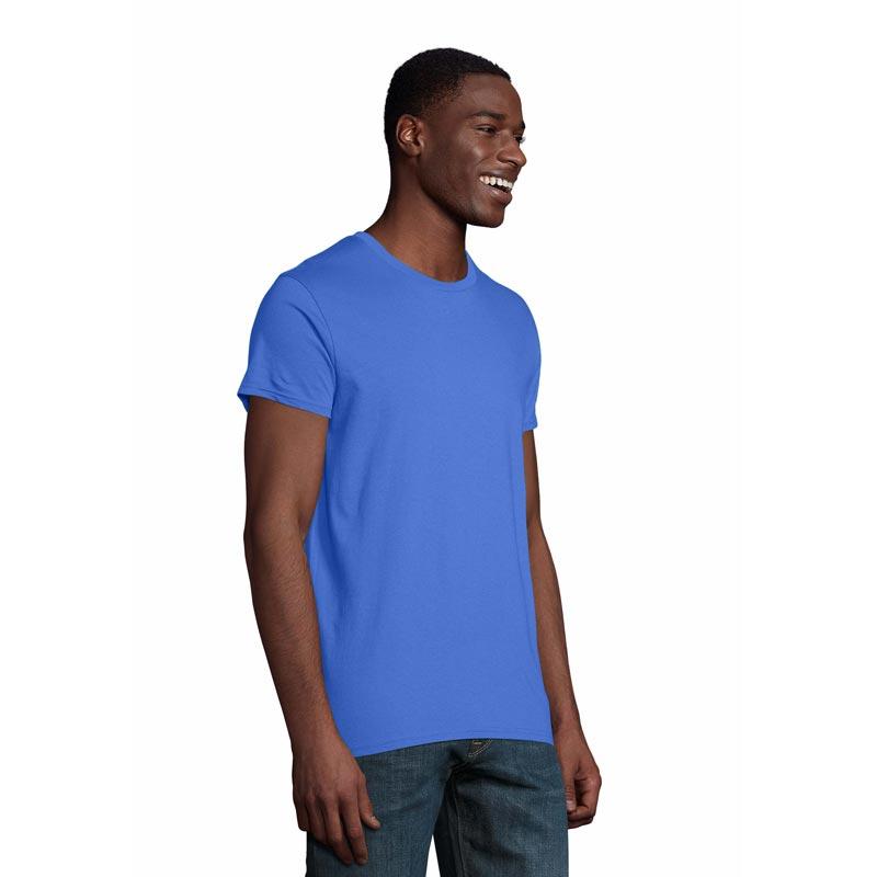t-shirt homme publicitaire en coton bio Pioneer