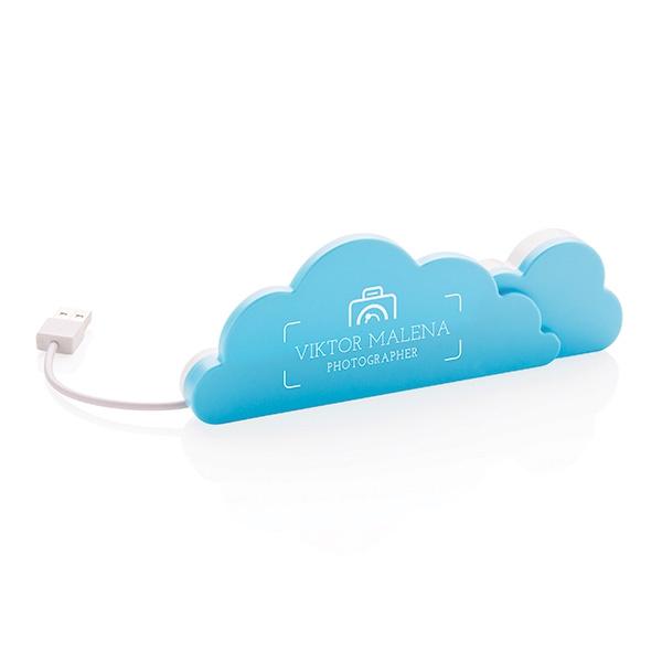 Objet publicitaire - Hub publicitaire Cloud