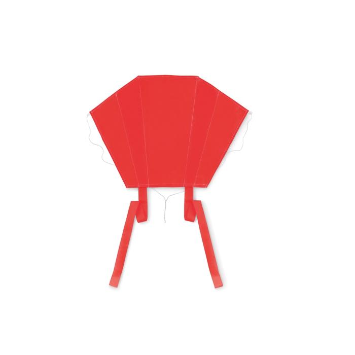 Objet publicitaire outdoor - Cerf-volant personnalisé Fly - pochette rouge