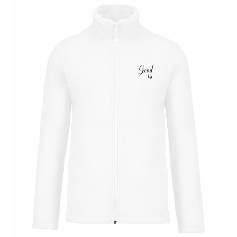 veste polaire publicitaire zippée Falco - textile entreprise