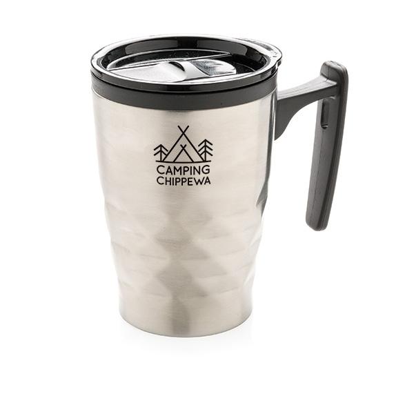 Tasse publicitaire Triangolo noire - tasse personnalisable