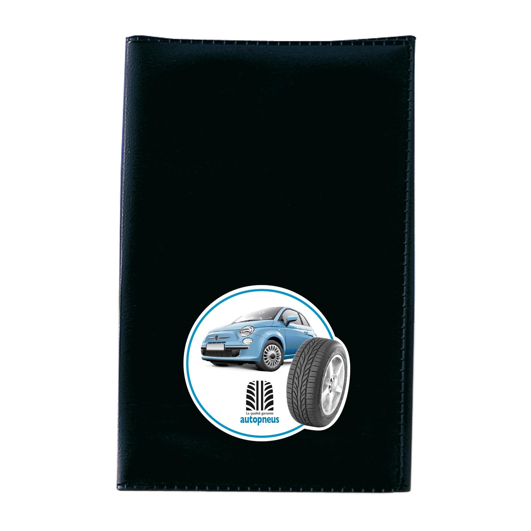 Objet publicitaire automobile - Porte-carte grise publicitaire 3 volets Motor
