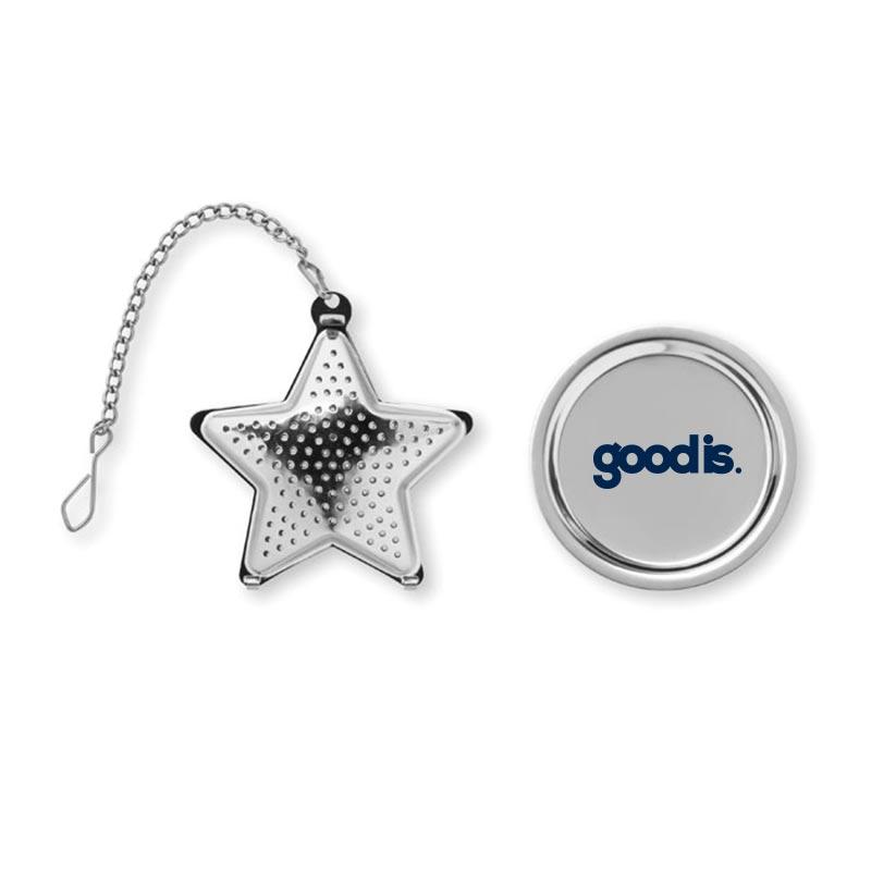 Boule à thé étoile en inox Starfilter