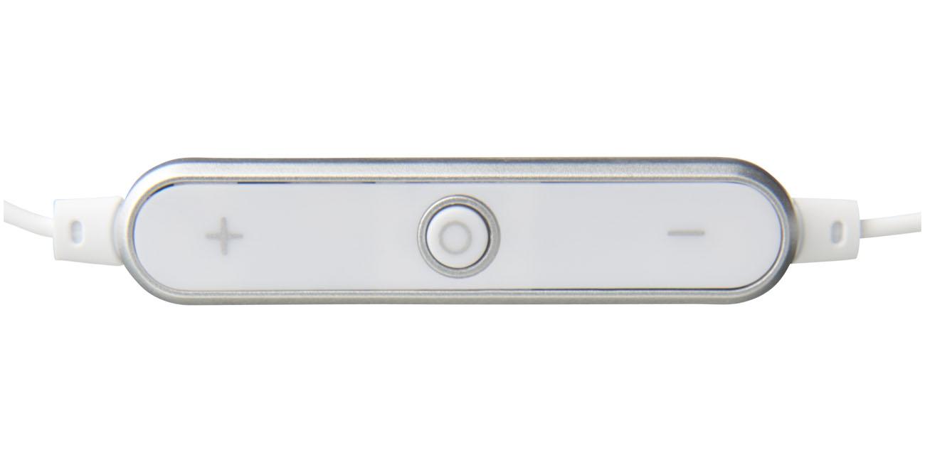 Cadeau d'entreprise - Ecouteurs publicitaires Bluetooth® Shiny