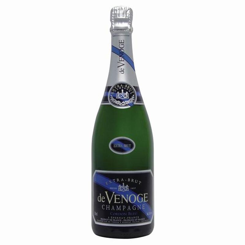 Champagne extra brut + étui - cadeau d'entreprise