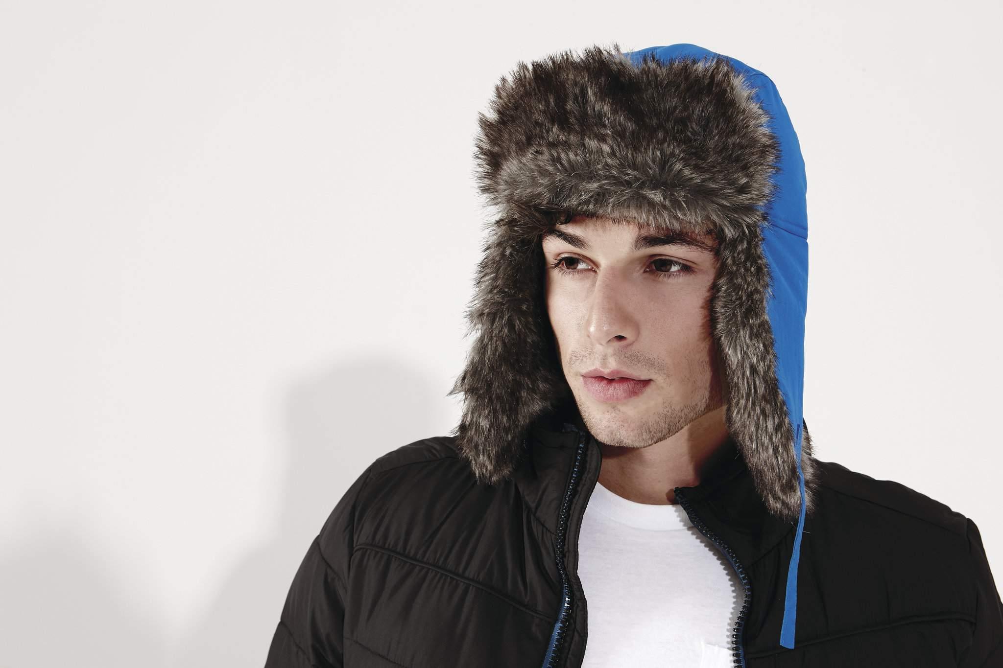 Bonnet promotionnel Sherpa - bonnet publicitaire
