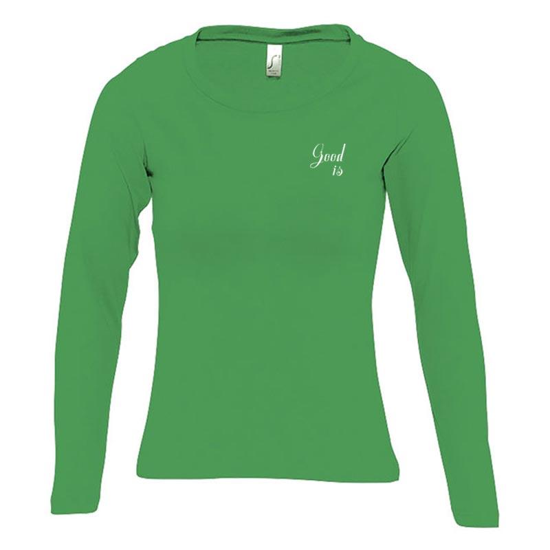 T-shirt publicitaire en coton manches longues nombreux coloris