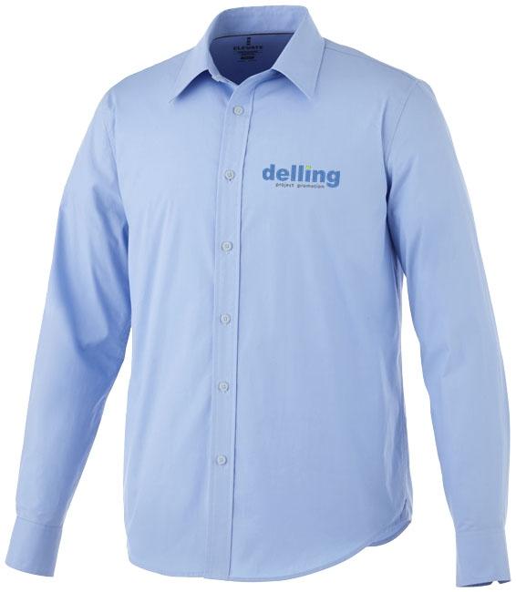Chemise publicitaire manches longues Hamell pour homme - textile publicitaire