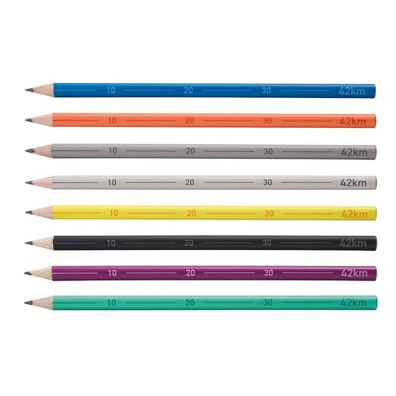 Crayon à papier publicitaire 42km Marathon - Coloris disponibles