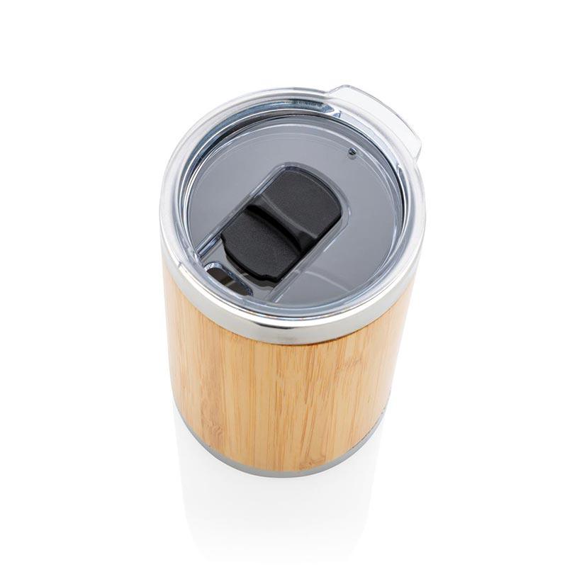 Mug personnalisable coffee-to-go en bambou Kekope
