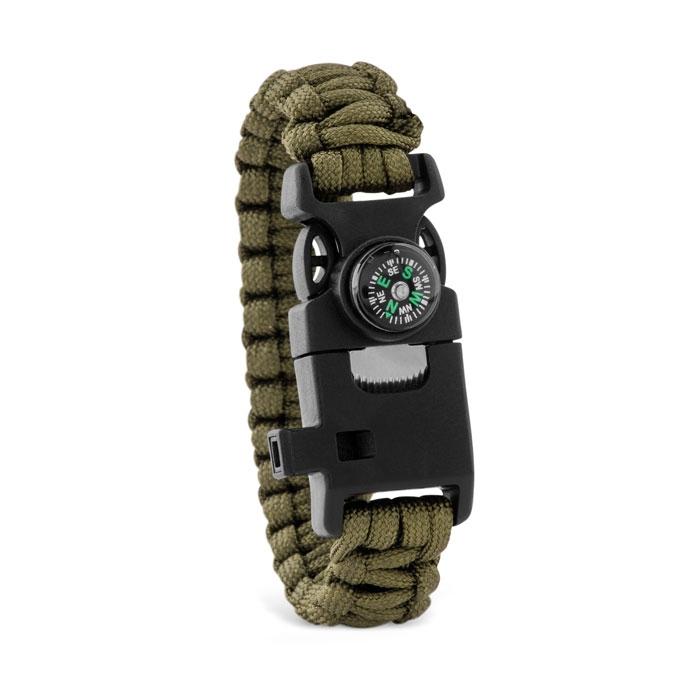 Boussole publicitaire - bracelet de survie publicitaire Survival