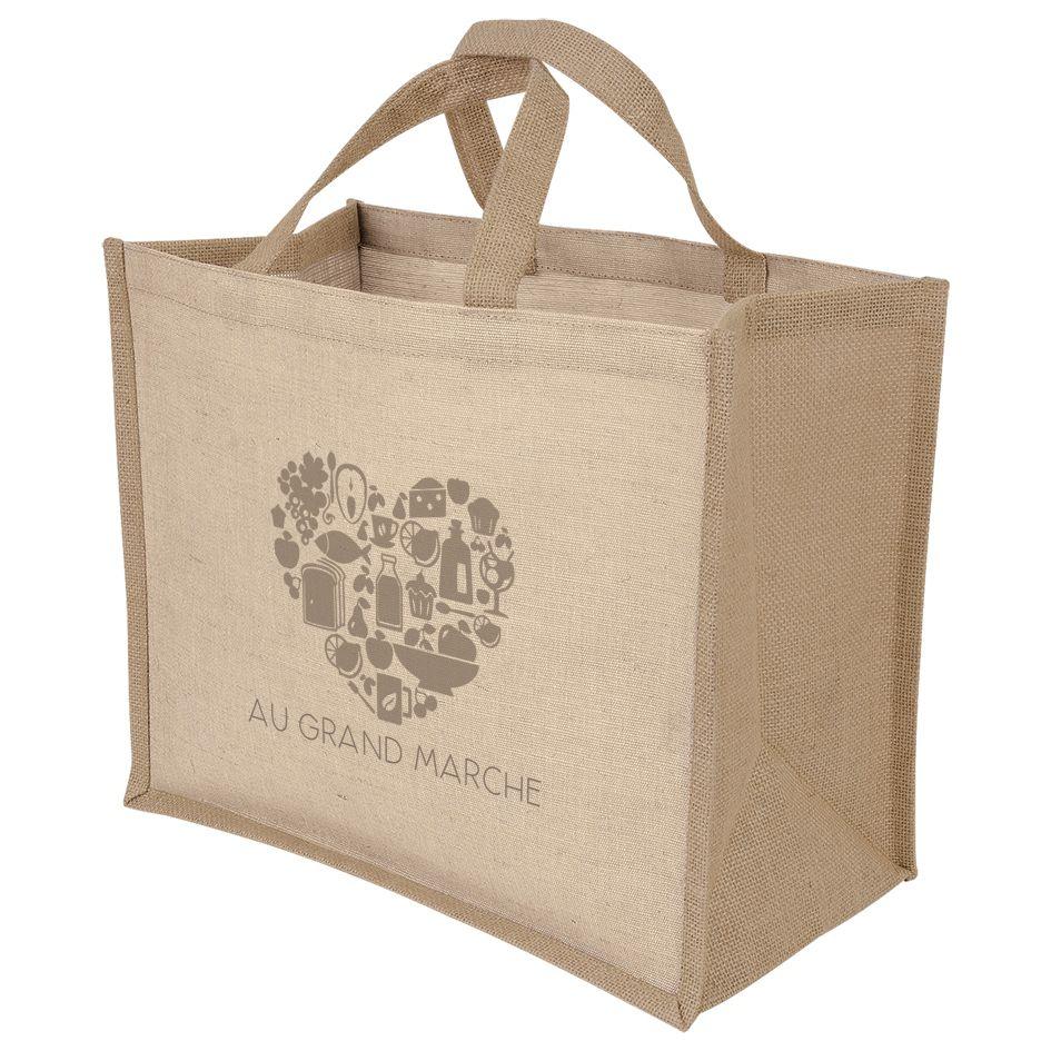 Sac shopping publicitaire écologique Juco - sac shopping personnalisable