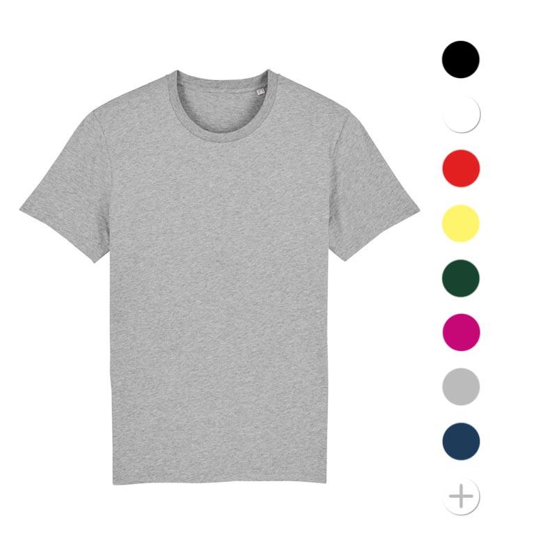 tee-shirt publicitaire mixte en coton bio Creator - textile publicitaire