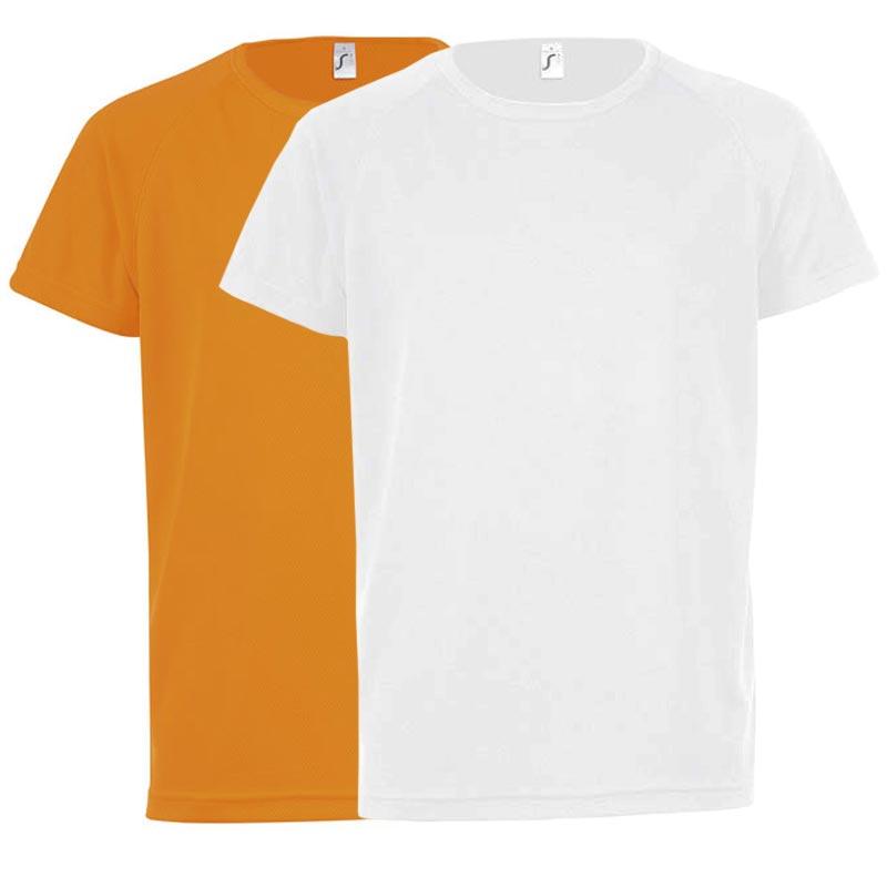 T-shirt publicitaire Sporty taille enfant - Coloris disponibles