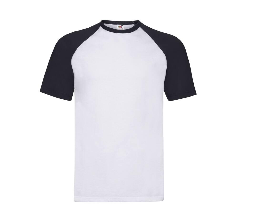 T-shirt publicitaire en coton Baseball 1