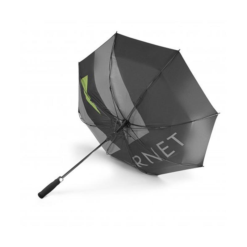 Parapluie publicitaire Vuarnet fonction anti-tempête