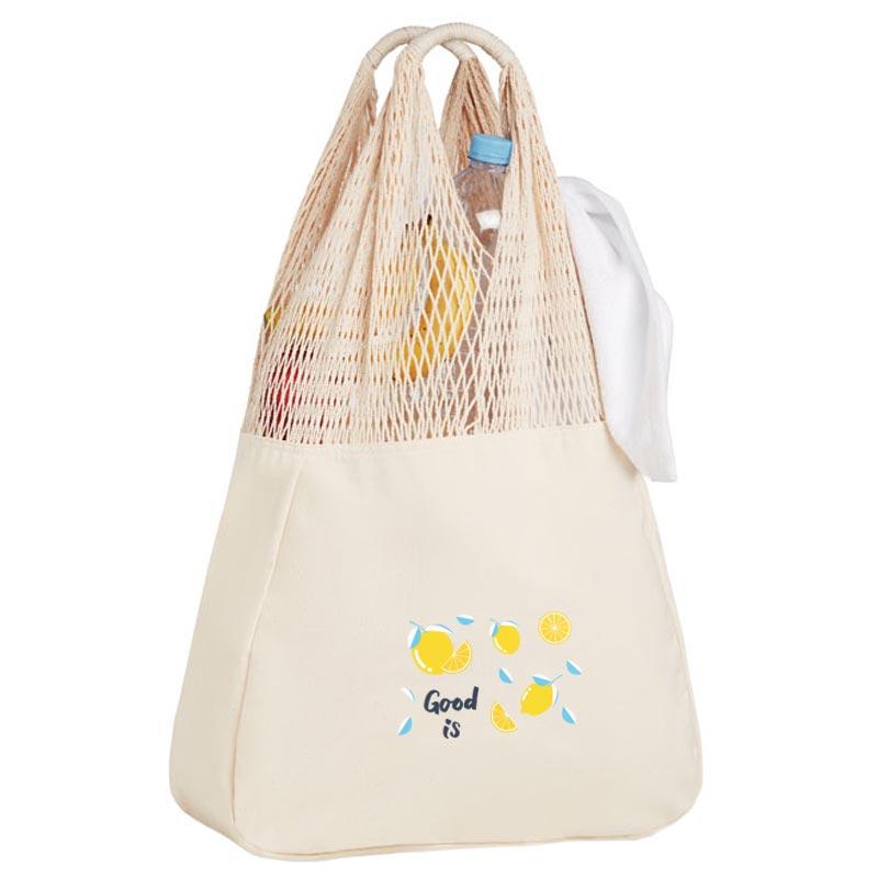 Tote bag publicitaire en coton Barbuda - cadeau client