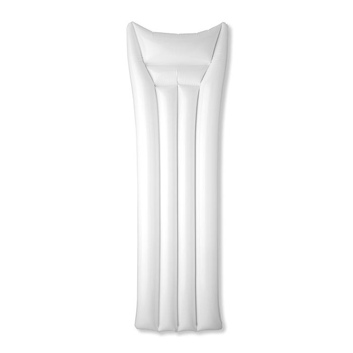 Matelas publicitaire Air white - objet publicitaire pour la plage