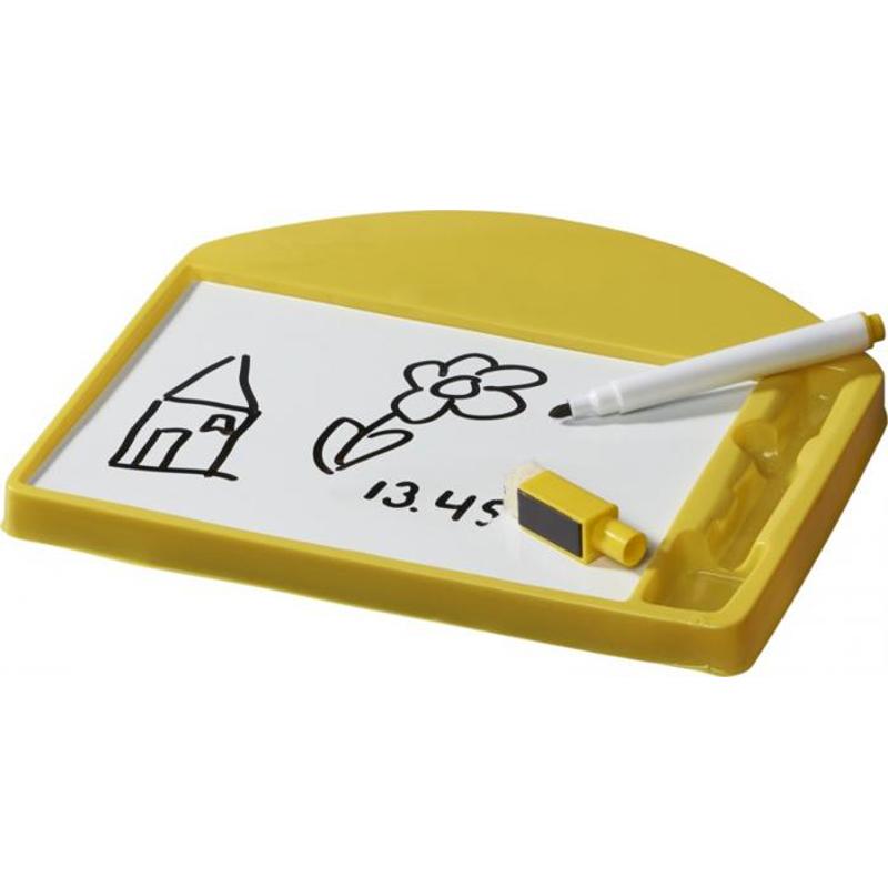 Cadeau publicitaire pour enfants - Ardoise publicitaire Sketchi - noir