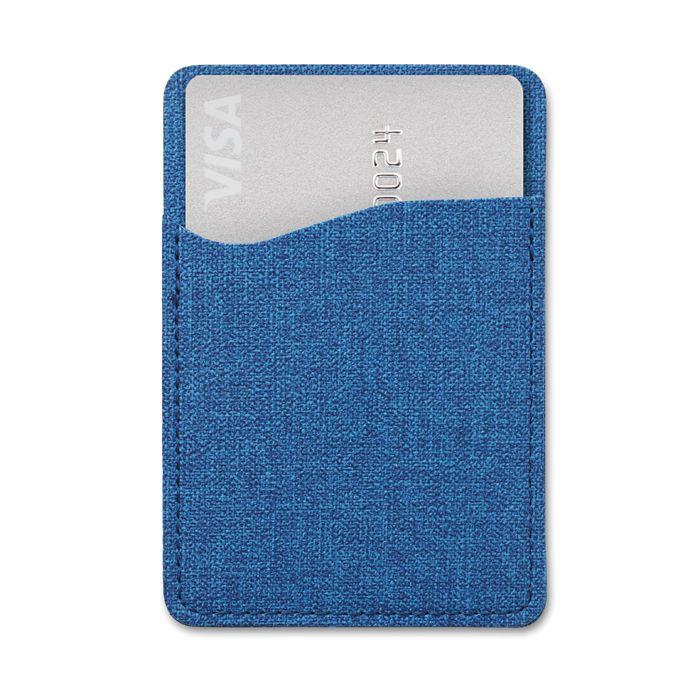 objet personnalisé - porte-cartes personnalisable tissu Shieldtone