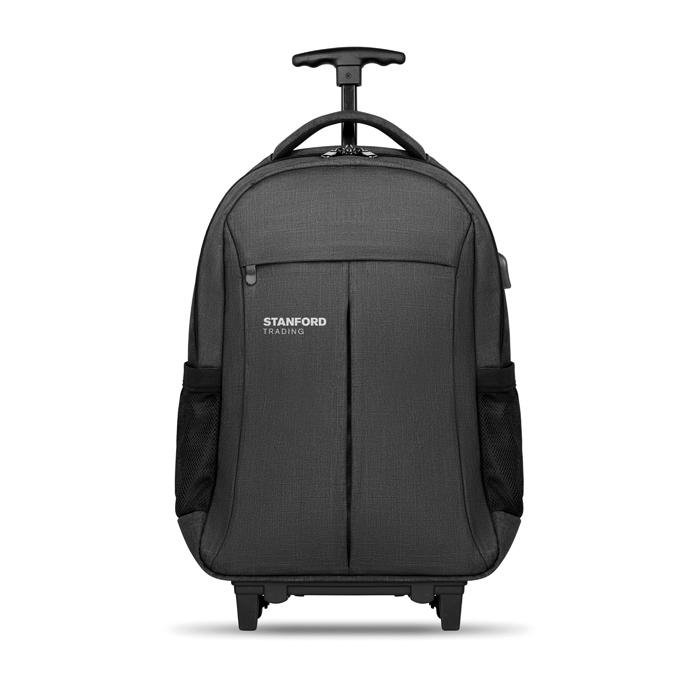 Trolley publicitaire sac à dos ordinateur Stockholm - cadeau d'entreprise voyage