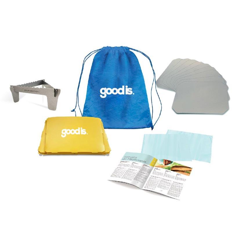 Kit pour barbecue solaire publicitaire Sungood - Goodies original