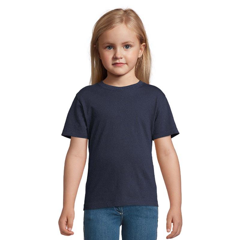 tee-shirt publicitaire pour enfant Regent bleu