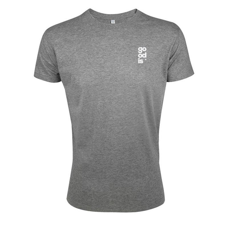 T-shirt publicitaire homme en coton Regent Fit 150 g - Coloris gris