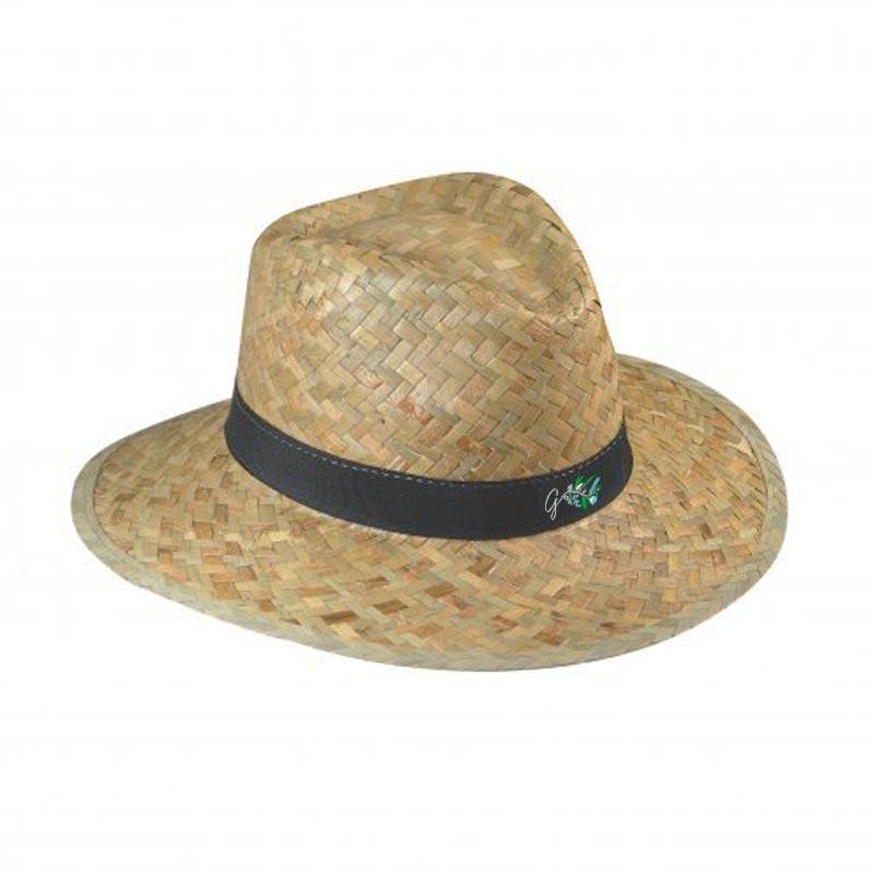 Chapeau de paille publicitaire Doulos - Chapeau personnalisé écologique