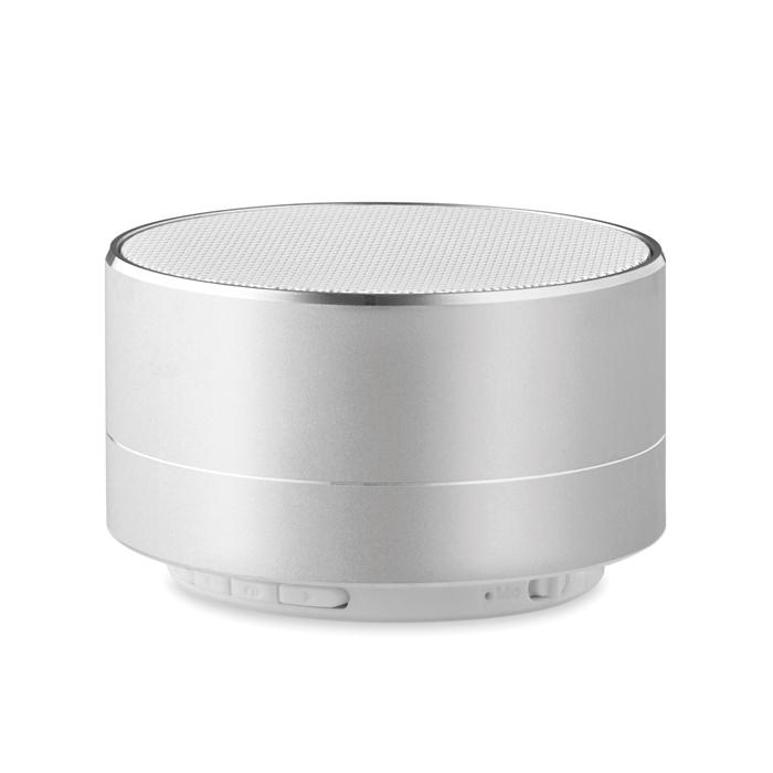 Cadeau publicitaire - Haut-parleur Bluetooth® personnalisé rond Sound - noir