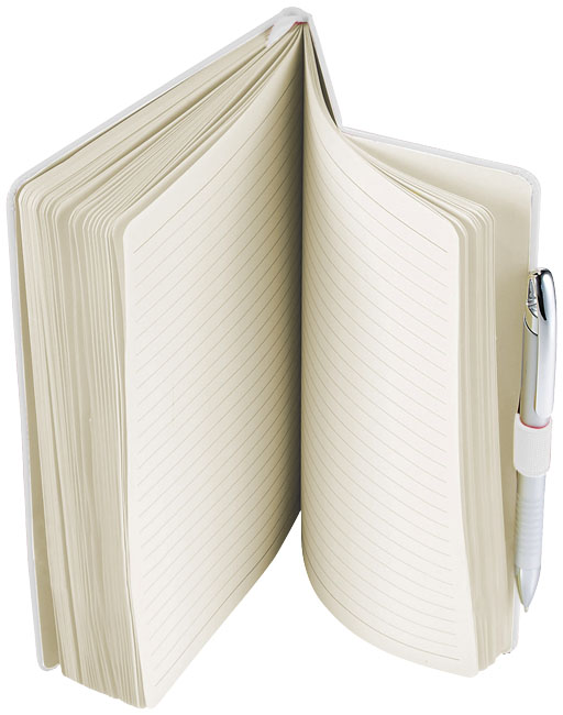 Carnet flexible Journalbooks® Bloom - carnet publicitaire
