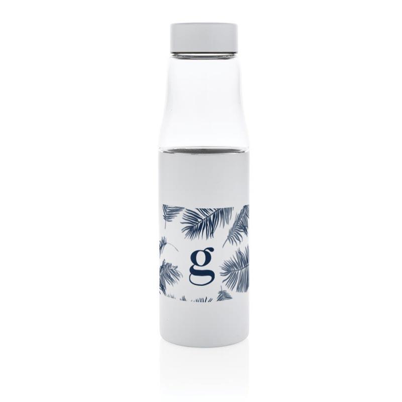 sérigraphie sur bouteille isotherme publicitaire en verre