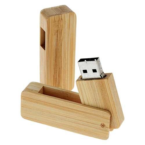Cadeau publicitaire écologique - Clé USB publicitaire écologique Pring
