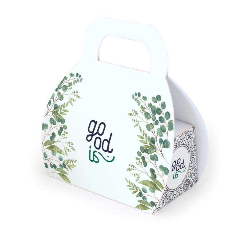 Kit de plantation publicitaire mallette - Cadeau publicitaire végétal