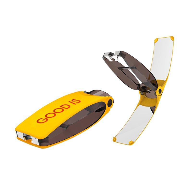 Briquet solaire publicitaire Suncase Gear - Coloris jaune