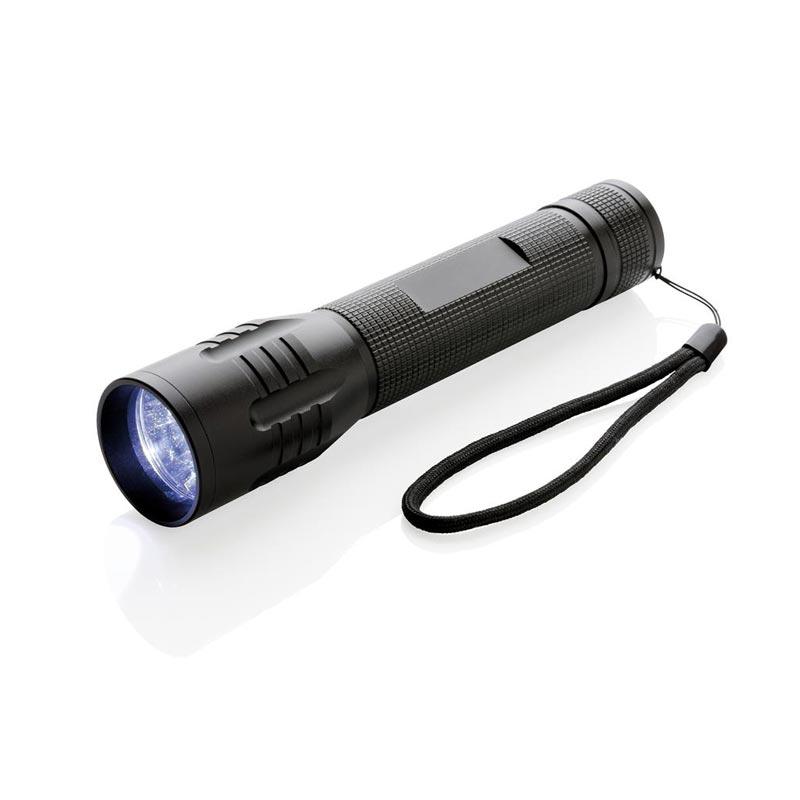Lampe torche personnalisée CREE 3W Large - Cadeau d'entreprise