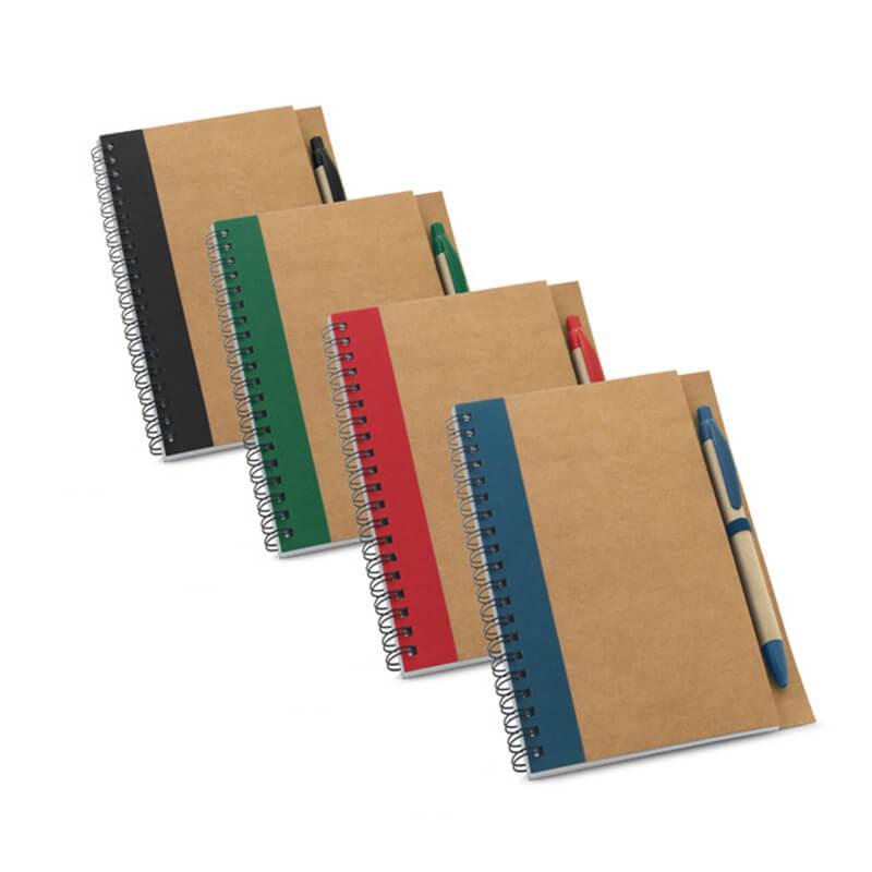 Bloc-notes personnalisable Kraft - Carnet de notes à personnaliser