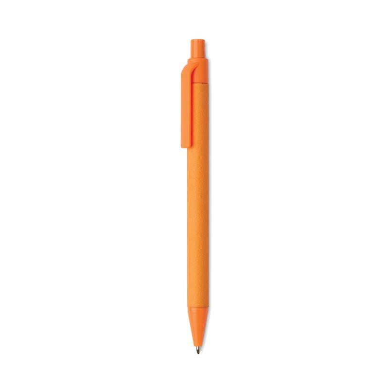 Stylo entreprise pour marquage logo - orange
