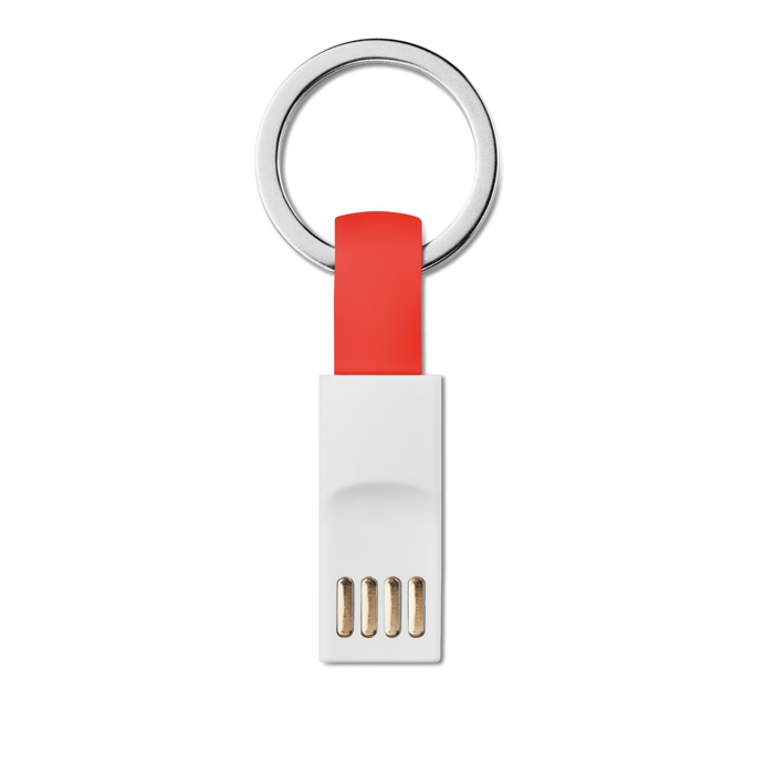 Porte-clés câble USB personnalisable