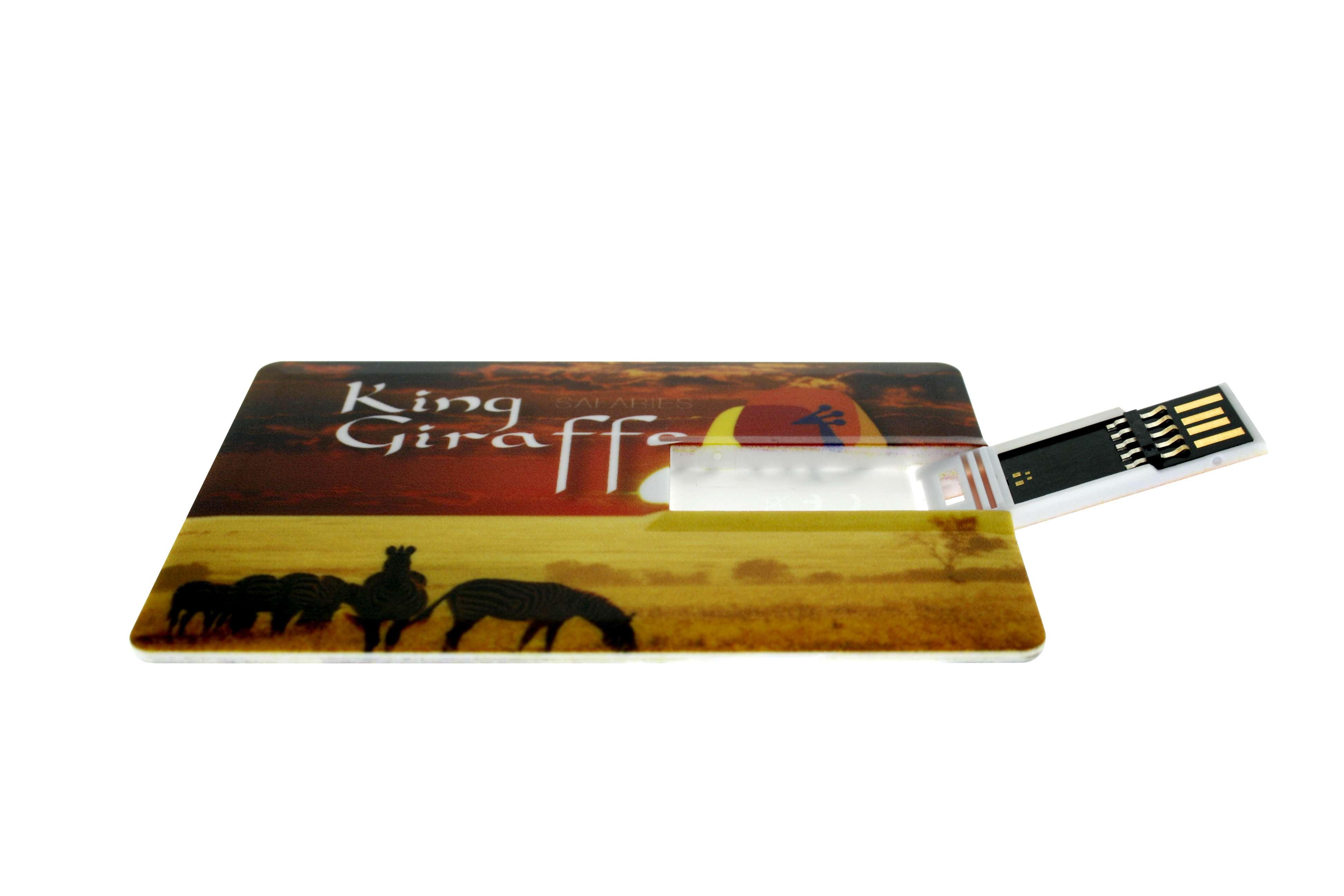 Clé USB publicitaire carte de crédit 3.0 - Cadeau publicitaire