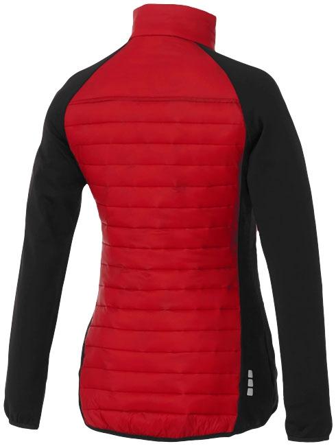 Textile publicitaire - Doudoune publicitaire Hybride Banff Femme - rouge
