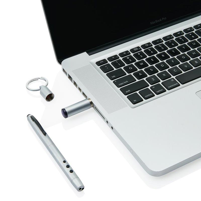 clé USB du stylo publicitaire 4 en 1 Luke