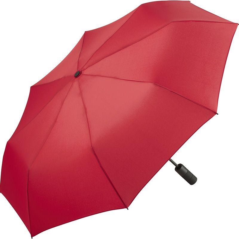 Parapluie personnalisé de poche Caoutch - Parapluie publicitaire - rouge